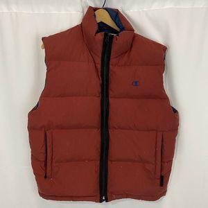 Vintage Mens Champion Down Puffy Vest Size Large